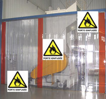 fire-resistant PVC strip curtain door  KEALA