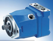 fixed displacement axial piston hydraulic motor 215 l/min, 350 bar | A10FM series Bosch Rexroth - Industrial Hydraulics