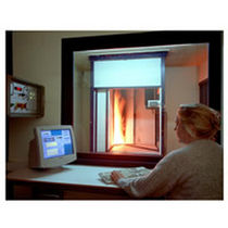 flame chamber for burn resistance test SBI  EDIT