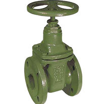 flange gate valve DN 40 - 300, PN 10 | CA series END-Armaturen GmbH & Co. KG