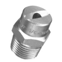 flat spray nozzle 1/8 - 1"
