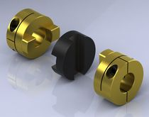 flexible coupling: Oldham coupling max. 0.08 - 70.4 Nm | Type OC OEP Couplings
