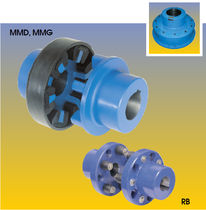 flexible coupling: highly-elastic coupling 350 - 3 000 000 Nm | 	Jaure® MMD, MMG, RB JAURE