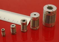 flexible coupling: nickel bellows coupling 4.9 - 328 Ncm, ø 2 - 12.7 mm A.C.C.&S
