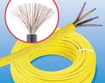 flexible rubber electric power supply cable 450 - 750 V, max. 5 x 16 mm² | INDUSTRIEFLEX 07 HT series 	 ELSPRO Elektrotechnik GmbH & Co. KG