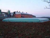 flexible storage tank for agricultural and vineyard effluents 1 - 500 m&sup3; SODEVAGRI
