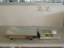 floor scale max. 3000 kg Gibertini Elettronica