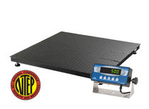 floor scale 4' x 4', 10 000 lbs Transcell Technology, Inc.