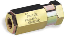"flow control valve 1/4"" - 1"", max. 345 bar 