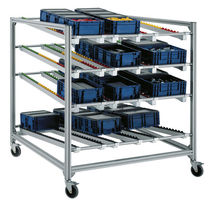 flow storage shelving  Bosch Rexroth - Linear Motion