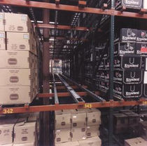 flow storage shelving for cartons max. 3 000 lbs Ridg-U-Rak