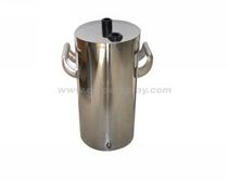 fluidized hopper for powder coating spray gun ø = 20 cm hangzhou color powder coating equipment  ltd