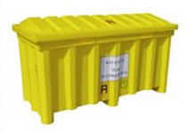 fluorescent tube collection container 900 L numak srl
