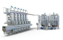 food production line: cheese and whey Tebel Casomatic SC 7 Tetra Pak