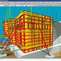 formwork design software under Autocad 2D, 3D | Plan pro PASCHAL-Werk G. Maier