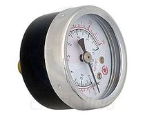 front mount miniature Bourdon tube pressure gauge  Changhua Chen Ying Oil Machine Co., Ltd.