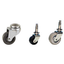 furniture caster 12 - 40 daN, ø 32 - 50 mm | DRILL GUITEL