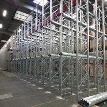 galvanized accumulation storage racking RTG drive industrie SA