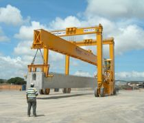 gantry crane for prefabrication sites MST 140 - 33 CIMOLAI TECHNOLOGY SpA