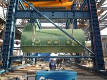 gantry crane max. 12 000 t  Sarens Group