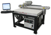 gantry type laser cutting and engraving machine max. 2032 x 635 mm, 30 - 150 W | DHS25 series  Kern Electronics and Lasers, Inc