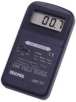 gaussmeter / teslameter 0.1 - 199.9 mG, 0.01 - 19.99 T | EMF-701  Tecpel  Co., Ltd.