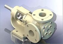 "gear pump for the food industry 0.3 m³/h, 10 bar | YKF - 1½"" series Yildiz Pompa ve Mak. San. Tic. Ltd. Sti."