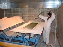 gelcoat spraying unit  Matrasur Composites