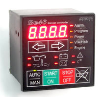generator set controller 7 - 36 V, max. 9 000 A | Be46 bernini design srl