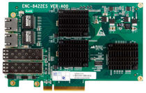Gigabit Ethernet (GigE) network interface card 2 x SFP, 2 x RJ45, 1 Gbps | ENC-8422ES EVOC Intelligent Technology Co., Ltd.