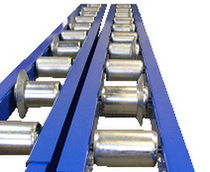 gravity roller conveyor max. ø 89 mm | TSRG-02 RENAU TRANSPORTADORS