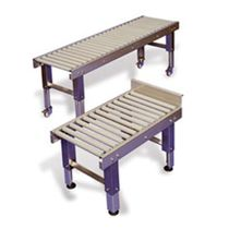 "gravity roller conveyor 12"" - 24"" 