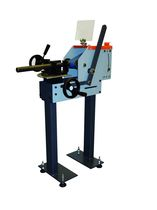 grinding, polishing machine with abrasive belt for flat and straight tubes max. ø 150 mm | R MODUL 75/150  NKO MACHINES