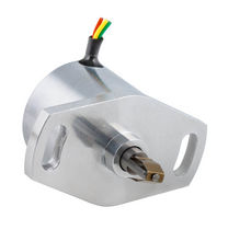 Hall effect absolute rotary encoder ø 28 mm, 12 - 16 bit, SSI | EHE228  Semip
