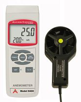 hand-held anemometer 0.9 - 55.9 mph | H400 Anaheim Scientific