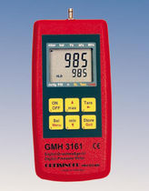 hand-held digital differential pressure manometer 0 - 1300 mbar | GMH 3161 GHM-Messtechnik