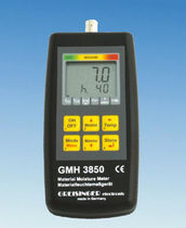 hand-held material moisture meter RS232, USB | GMH 3850 GHM-Messtechnik