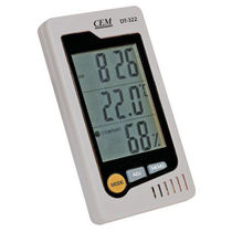 hand-held relative humidity and temperature meter 0 - 50 °C, 10 - 90% RH | DT-322 CEM Instruments, Inc