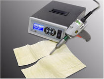 handheld ultrasonic cutting unit EZ Dukane Intelligent Assembly Solutions
