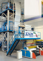 HDPE blown film extrusion line  Zocchi Giovanni