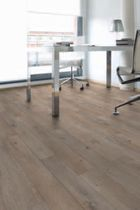 heavy duty acoustic vinyl floor covering Creation Clic System GERFLOR