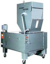heavy duty beside-the-press plastic granulator max. 1100 lbs/hr (500 kg/hr) | LARGE PART Hosokawa Polymer Systems