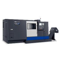 heavy duty CNC turning center max. 24 m/min | Hi-TECH 450 series Hwacheon
