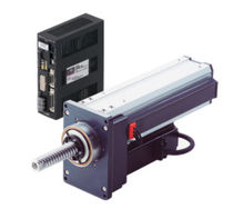 heavy duty electric ball screw linear actuator 100 mm, 5000 N | PWA II series ORIENTAL MOTOR