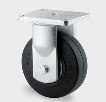 heavy-duty wheel and caster with elastic solid rubber tire max. 675 kg, &oslash; 250 mm TENTE