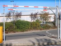 height restrictor barrier 2.5 m Avon Barrier Company