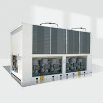 hermetic air cooled condensing unit for outdoor installation 326 - 706 kW | AQTC series  WESPER