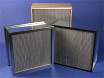 high capacity HEPA panel air filter 55 - 2 470 CFM United Air Specialists