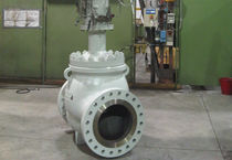 high capacity, low noise natural gas control valve  GE Energy, Valves - Control &amp; Safety