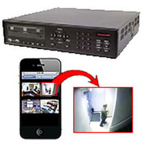 high definition digital CCTV video recorder (DVR) HRDP H.264 DVR series Honeywell Video Systems